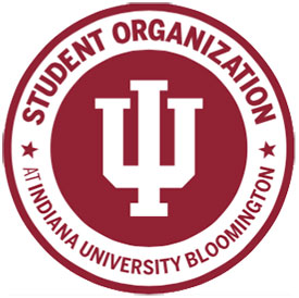 "a graphic that says ""student organization Indiana University Bloomington"""